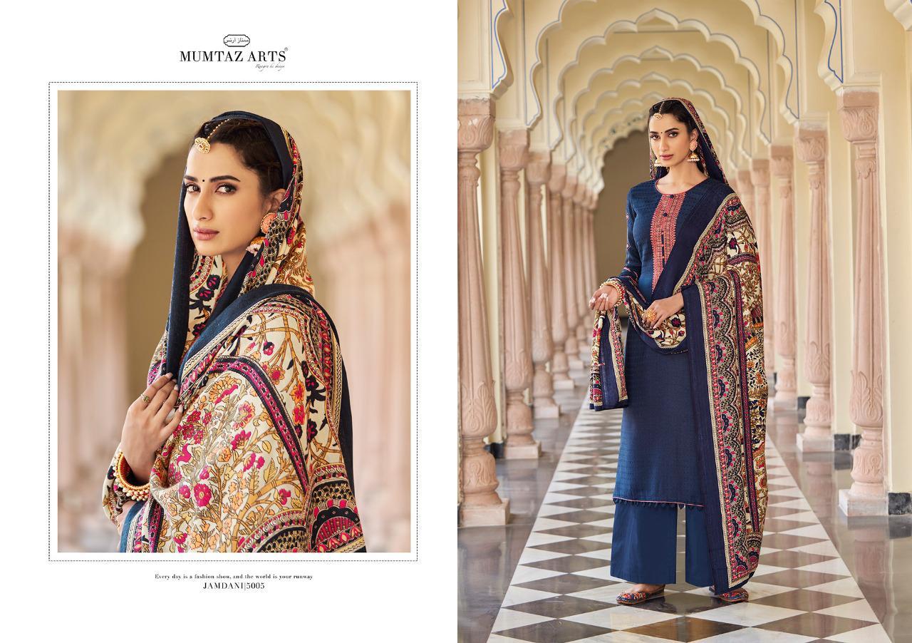 Mumtaz Arts Jamdani Pashmina Salwar Suit Wholesale Catalog 10 Pcs 8 - Mumtaz Arts Jamdani Pashmina Salwar Suit Wholesale Catalog 10 Pcs