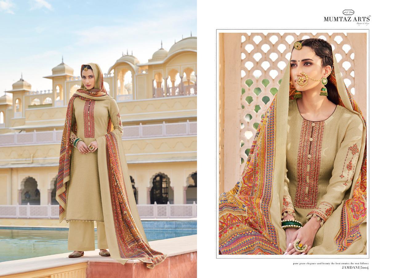 Mumtaz Arts Jamdani Pashmina Salwar Suit Wholesale Catalog 10 Pcs 9 - Mumtaz Arts Jamdani Pashmina Salwar Suit Wholesale Catalog 10 Pcs