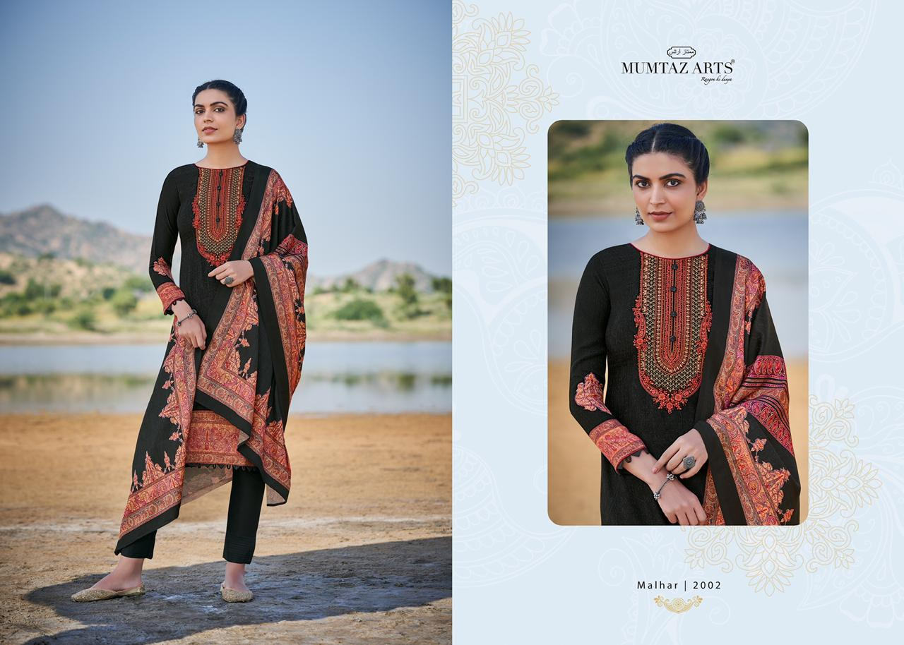 Mumtaz Arts Malhar Pashmina Salwar Suit Wholesale Catalog 8 Pcs 1 - Mumtaz Arts Malhar Pashmina Salwar Suit Wholesale Catalog 8 Pcs