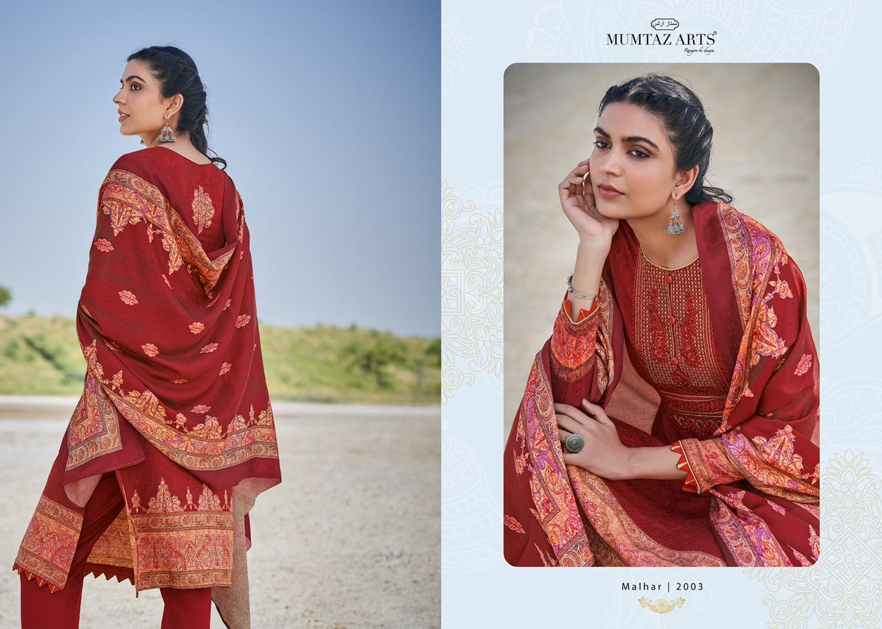 Mumtaz Arts Malhar Pashmina Salwar Suit Wholesale Catalog 8 Pcs 11 - Mumtaz Arts Malhar Pashmina Salwar Suit Wholesale Catalog 8 Pcs