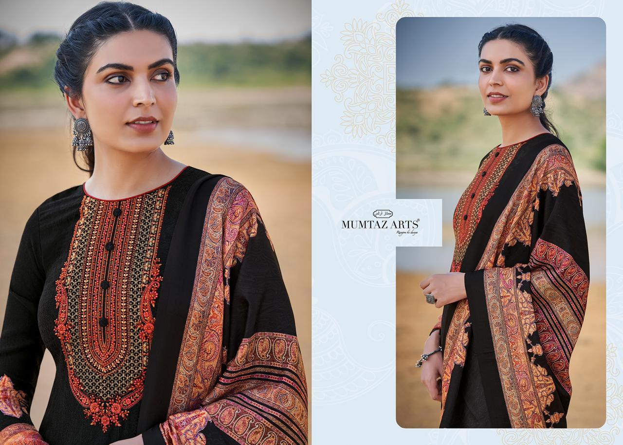 Mumtaz Arts Malhar Pashmina Salwar Suit Wholesale Catalog 8 Pcs 12 - Mumtaz Arts Malhar Pashmina Salwar Suit Wholesale Catalog 8 Pcs