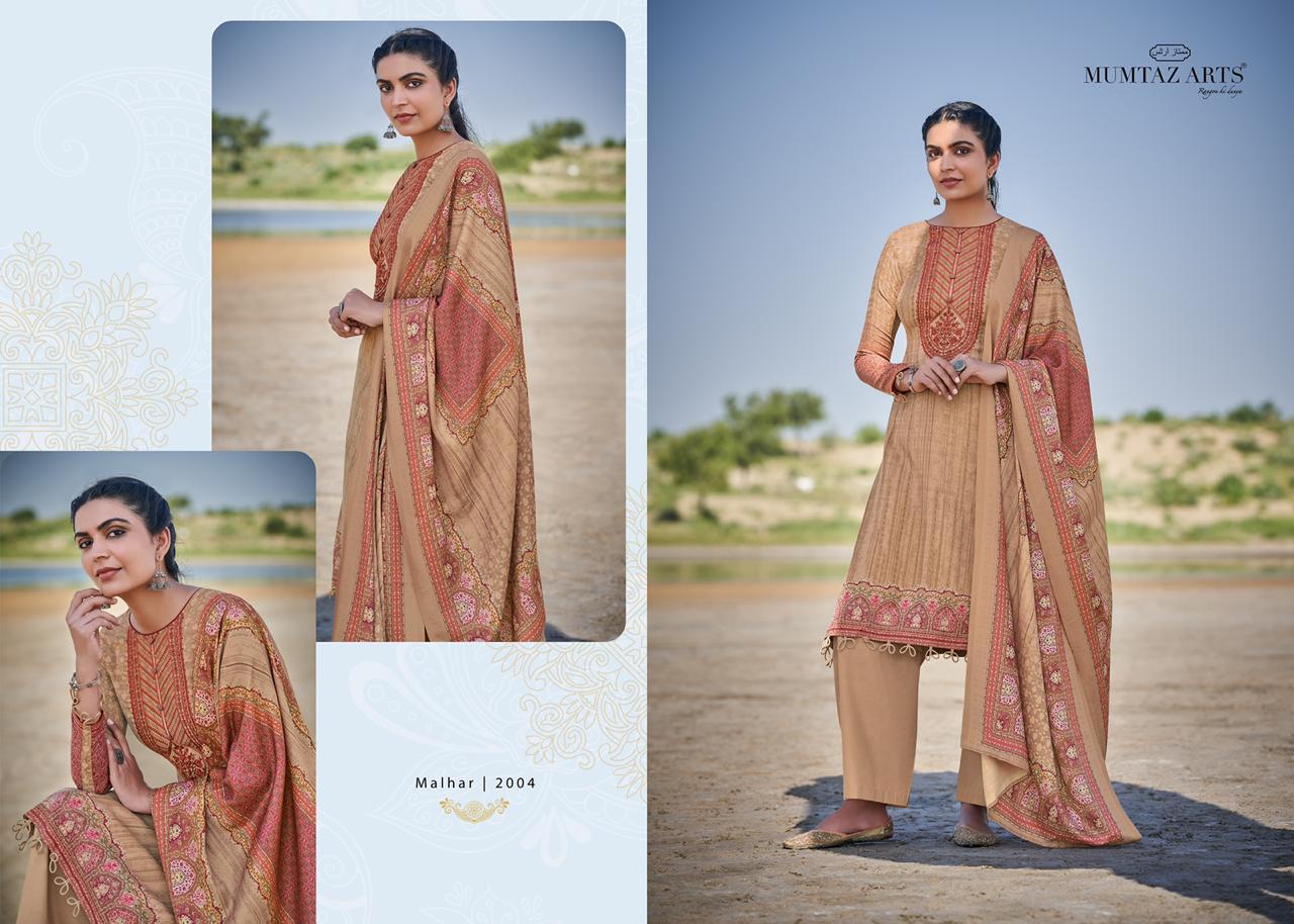 Mumtaz Arts Malhar Pashmina Salwar Suit Wholesale Catalog 8 Pcs 14 - Mumtaz Arts Malhar Pashmina Salwar Suit Wholesale Catalog 8 Pcs