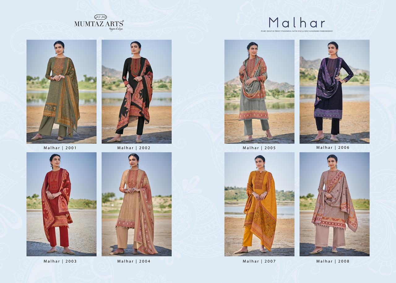 Mumtaz Arts Malhar Pashmina Salwar Suit Wholesale Catalog 8 Pcs 17 - Mumtaz Arts Malhar Pashmina Salwar Suit Wholesale Catalog 8 Pcs