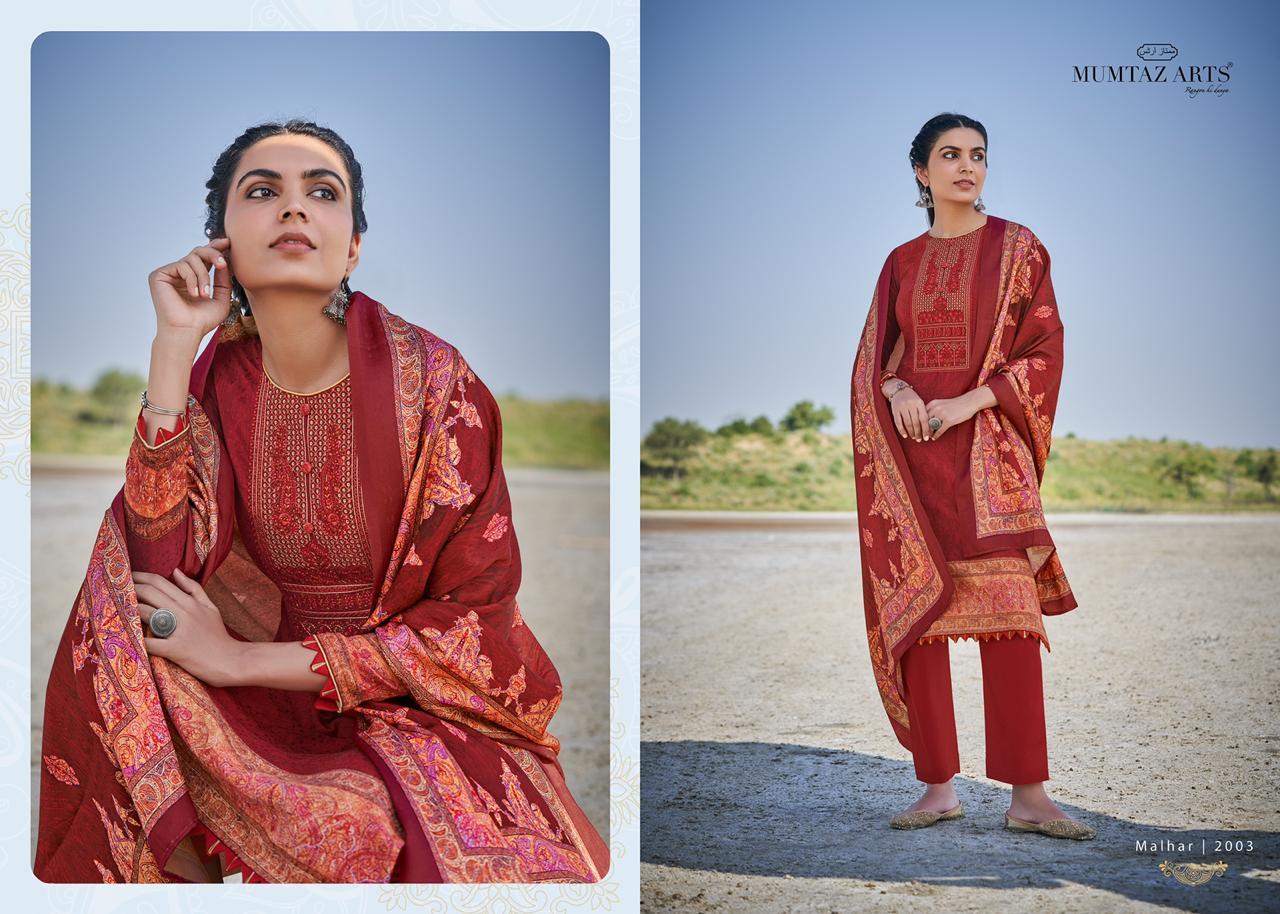 Mumtaz Arts Malhar Pashmina Salwar Suit Wholesale Catalog 8 Pcs 2 - Mumtaz Arts Malhar Pashmina Salwar Suit Wholesale Catalog 8 Pcs
