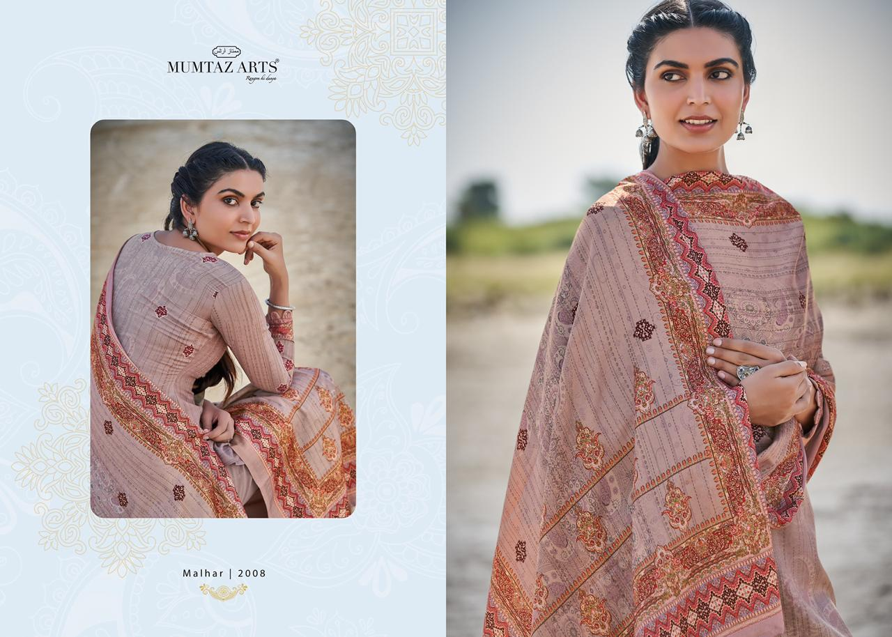 Mumtaz Arts Malhar Pashmina Salwar Suit Wholesale Catalog 8 Pcs 3 - Mumtaz Arts Malhar Pashmina Salwar Suit Wholesale Catalog 8 Pcs
