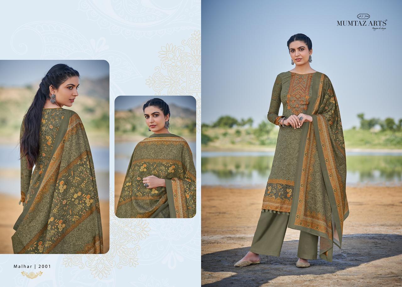Mumtaz Arts Malhar Pashmina Salwar Suit Wholesale Catalog 8 Pcs 4 - Mumtaz Arts Malhar Pashmina Salwar Suit Wholesale Catalog 8 Pcs