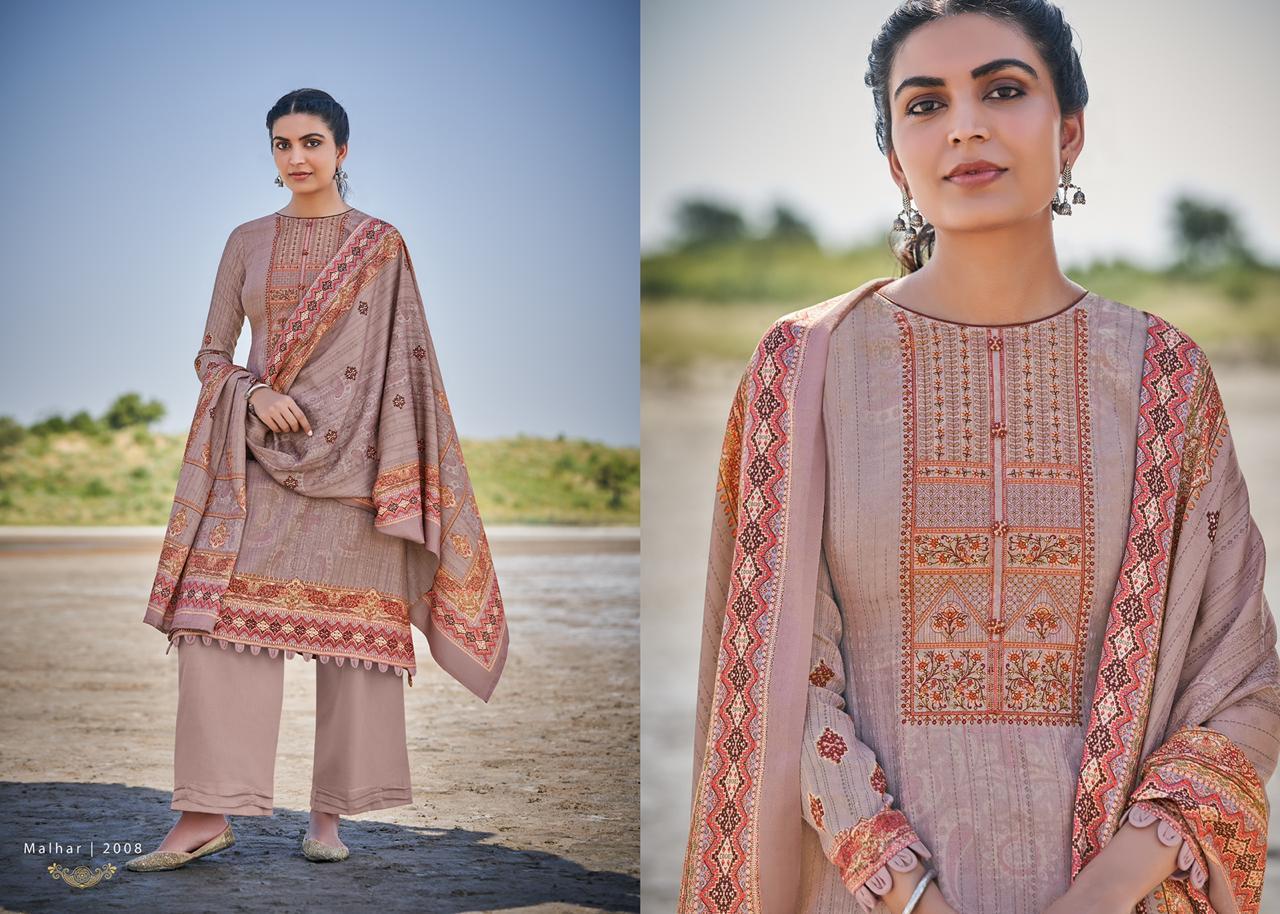 Mumtaz Arts Malhar Pashmina Salwar Suit Wholesale Catalog 8 Pcs 6 - Mumtaz Arts Malhar Pashmina Salwar Suit Wholesale Catalog 8 Pcs