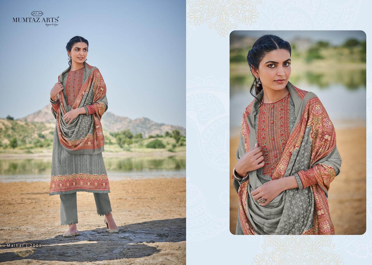 Mumtaz Arts Malhar Pashmina Salwar Suit Wholesale Catalog 8 Pcs 9 - Mumtaz Arts Malhar Pashmina Salwar Suit Wholesale Catalog 8 Pcs