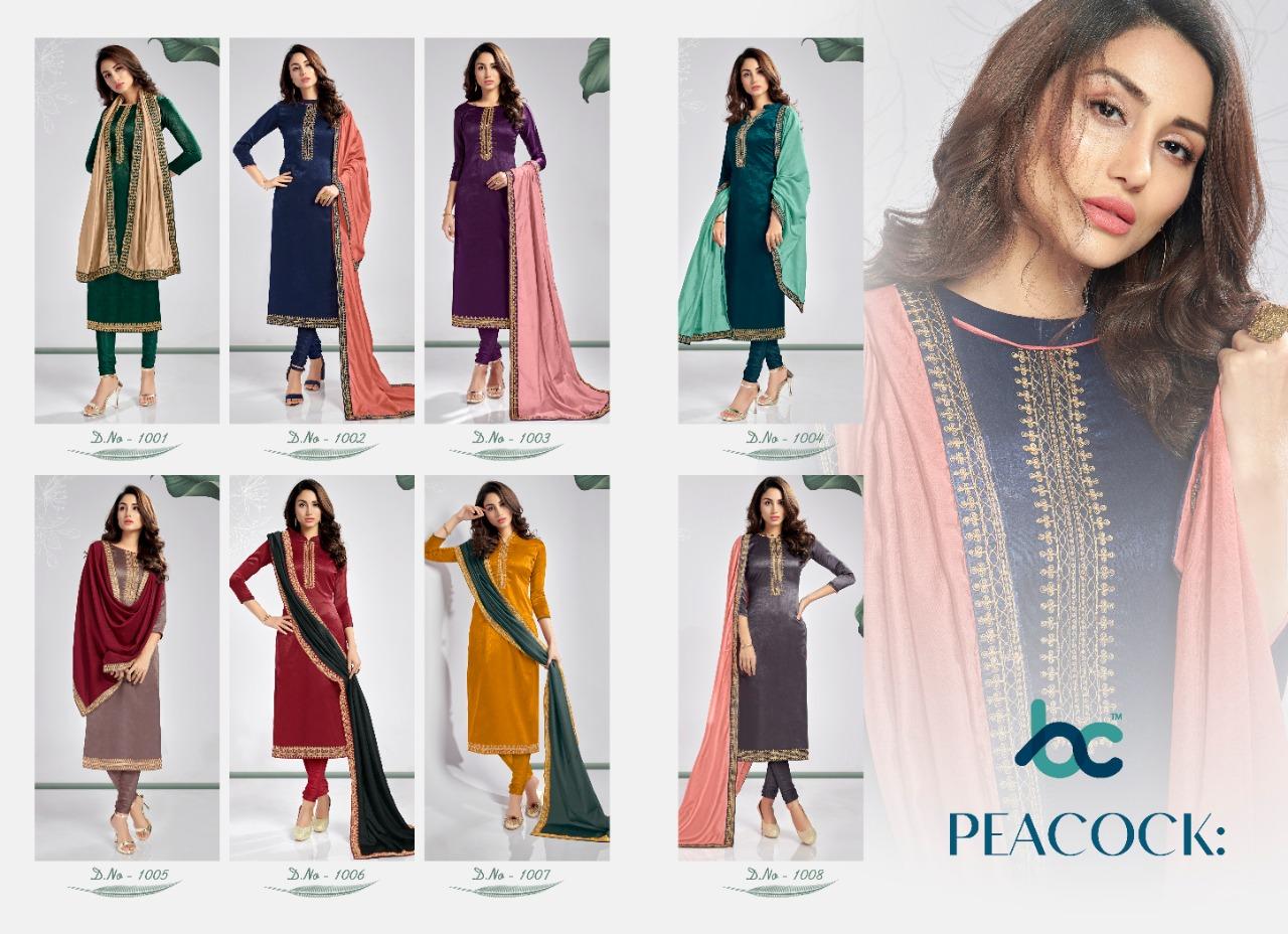 Peacock Salwar Suit Wholesale Catalog 8 Pcs 9 - Peacock Salwar Suit Wholesale Catalog 8 Pcs