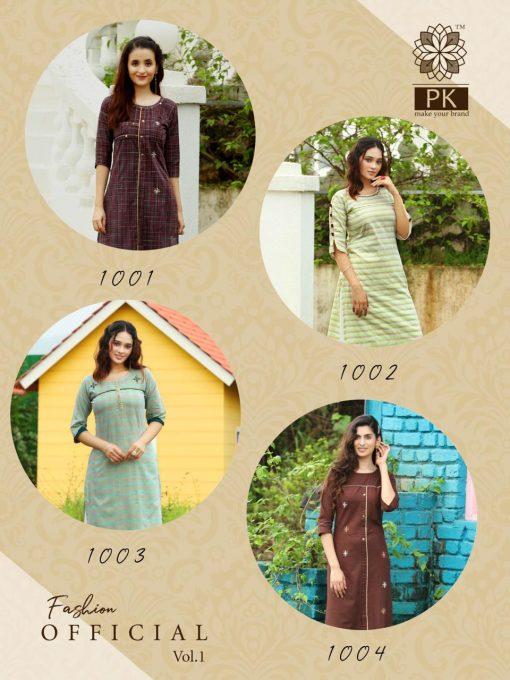 Pk Fashion Official Vol 1 Kurti Wholesale Catalog 9 Pcs 11 510x680 - Pk Fashion Official Vol 1 Kurti Wholesale Catalog 9 Pcs