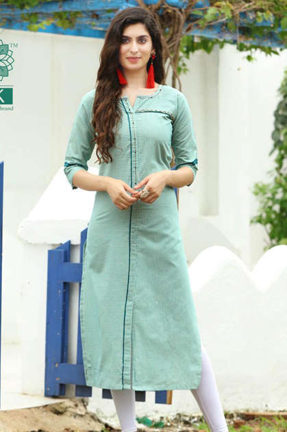 Pk Fashion Official Vol 1 Kurti Wholesale Catalog 9 Pcs