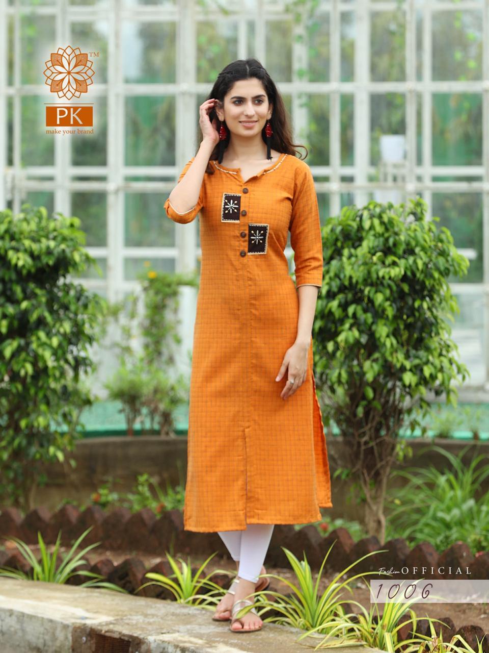 Pk Fashion Official Vol 1 Kurti Wholesale Catalog 9 Pcs 5 - Pk Fashion Official Vol 1 Kurti Wholesale Catalog 9 Pcs