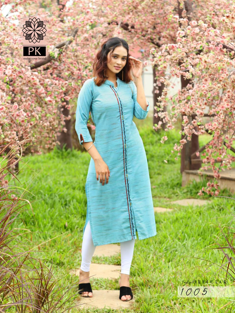 Pk Fashion Official Vol 1 Kurti Wholesale Catalog 9 Pcs 6 - Pk Fashion Official Vol 1 Kurti Wholesale Catalog 9 Pcs