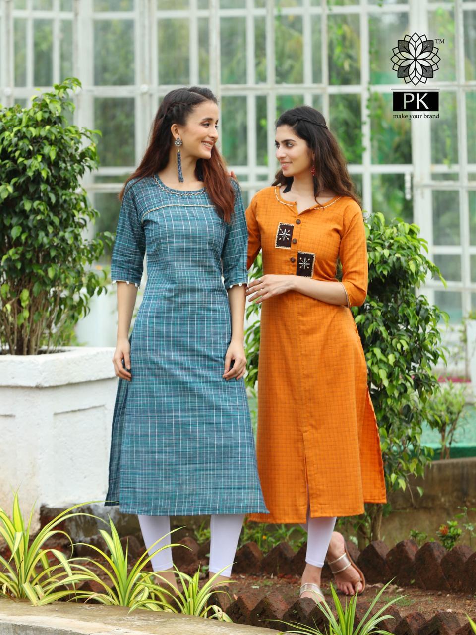 Pk Fashion Official Vol 1 Kurti Wholesale Catalog 9 Pcs 7 - Pk Fashion Official Vol 1 Kurti Wholesale Catalog 9 Pcs