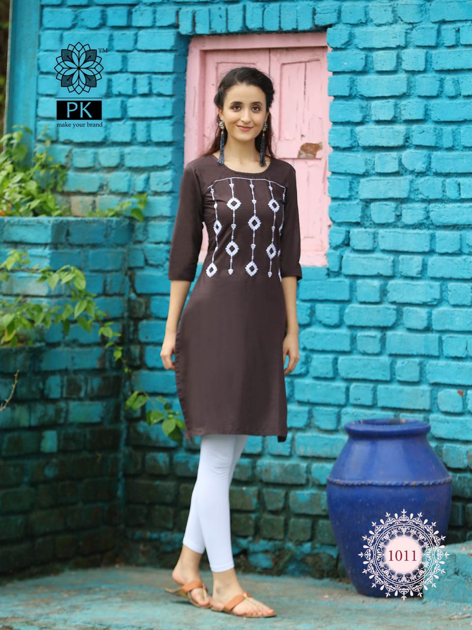 Pk Fashion Rainbow Vol 2 Kurti Wholesale Catalog 20 Pcs 11 - Pk Fashion Rainbow Vol 2 Kurti Wholesale Catalog 20 Pcs