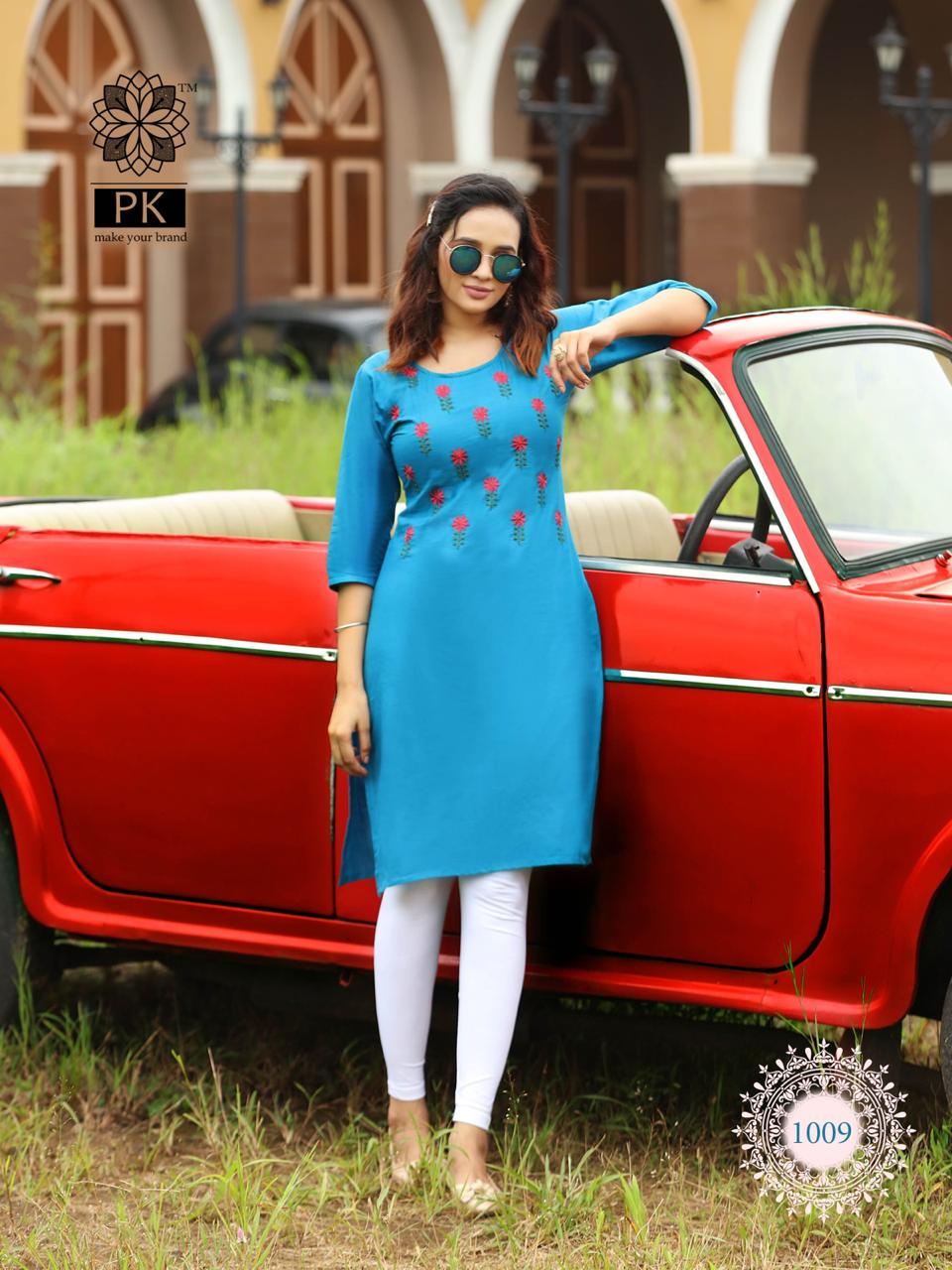 Pk Fashion Rainbow Vol 2 Kurti Wholesale Catalog 20 Pcs 12 - Pk Fashion Rainbow Vol 2 Kurti Wholesale Catalog 20 Pcs