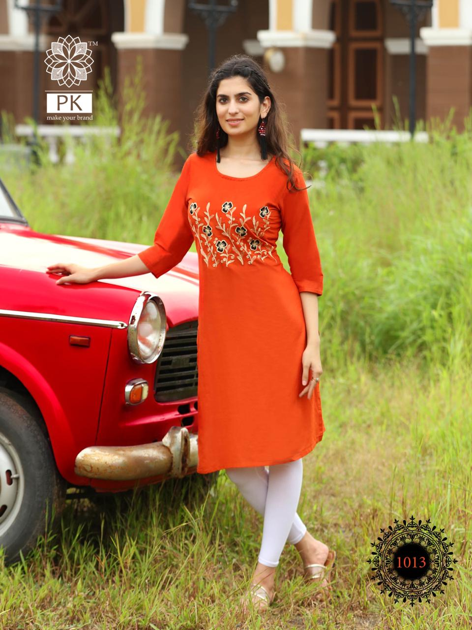 Pk Fashion Rainbow Vol 2 Kurti Wholesale Catalog 20 Pcs 13 - Pk Fashion Rainbow Vol 2 Kurti Wholesale Catalog 20 Pcs