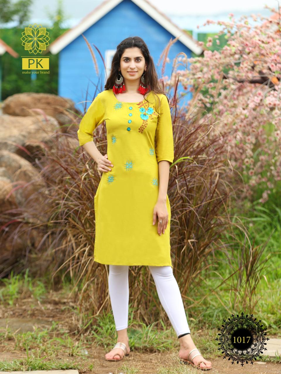 Pk Fashion Rainbow Vol 2 Kurti Wholesale Catalog 20 Pcs 18 - Pk Fashion Rainbow Vol 2 Kurti Wholesale Catalog 20 Pcs