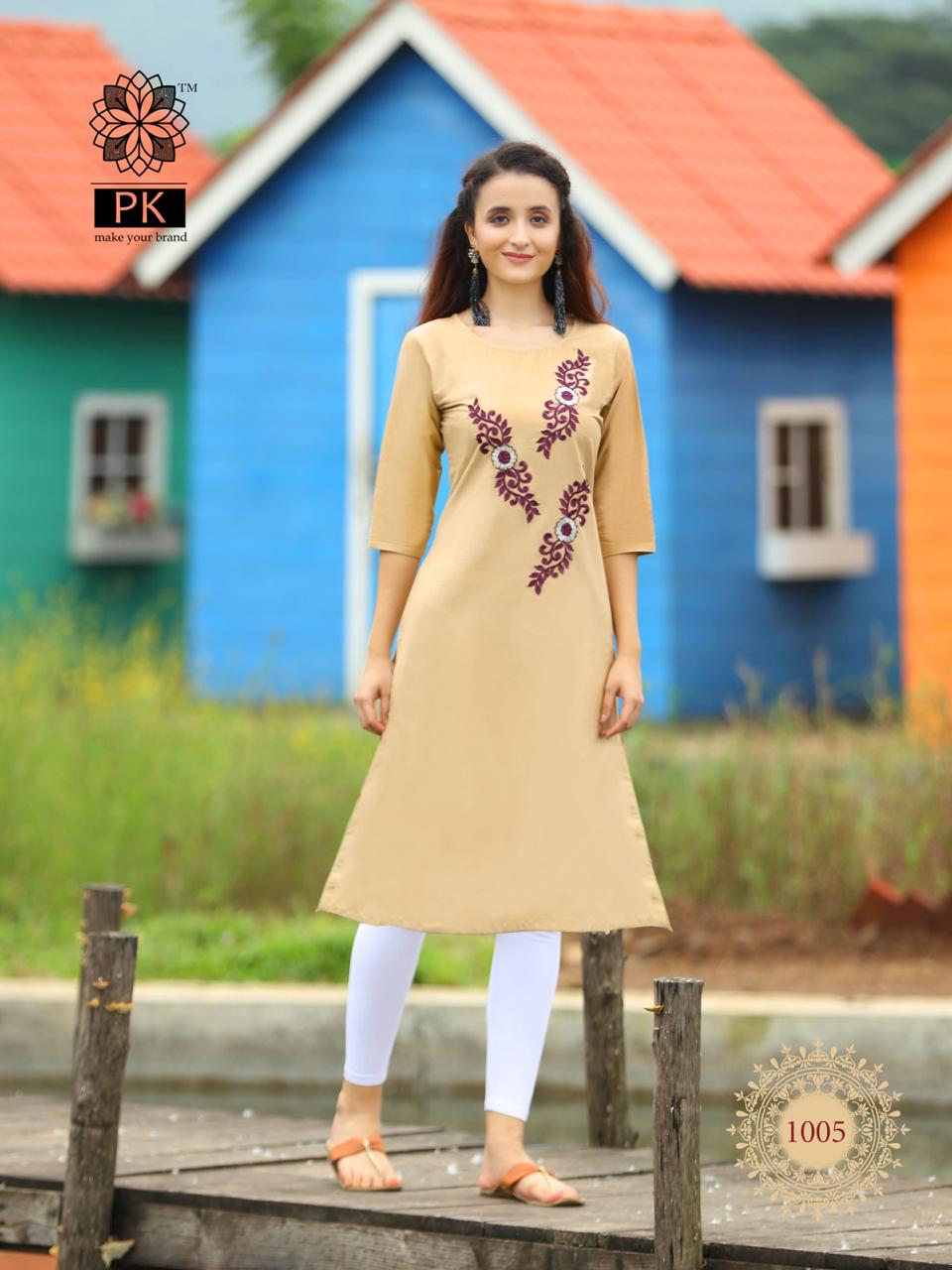 Pk Fashion Rainbow Vol 2 Kurti Wholesale Catalog 20 Pcs 2 - Pk Fashion Rainbow Vol 2 Kurti Wholesale Catalog 20 Pcs