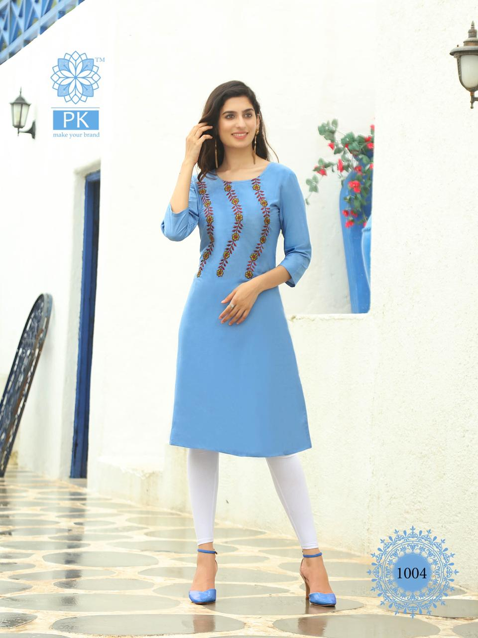 Pk Fashion Rainbow Vol 2 Kurti Wholesale Catalog 20 Pcs 3 - Pk Fashion Rainbow Vol 2 Kurti Wholesale Catalog 20 Pcs