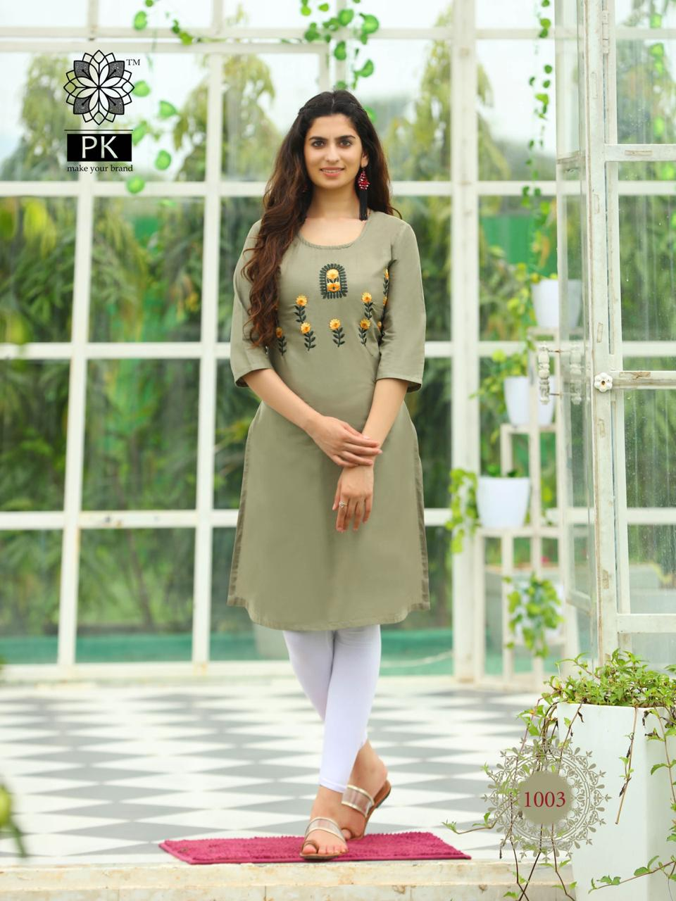Pk Fashion Rainbow Vol 2 Kurti Wholesale Catalog 20 Pcs 4 - Pk Fashion Rainbow Vol 2 Kurti Wholesale Catalog 20 Pcs