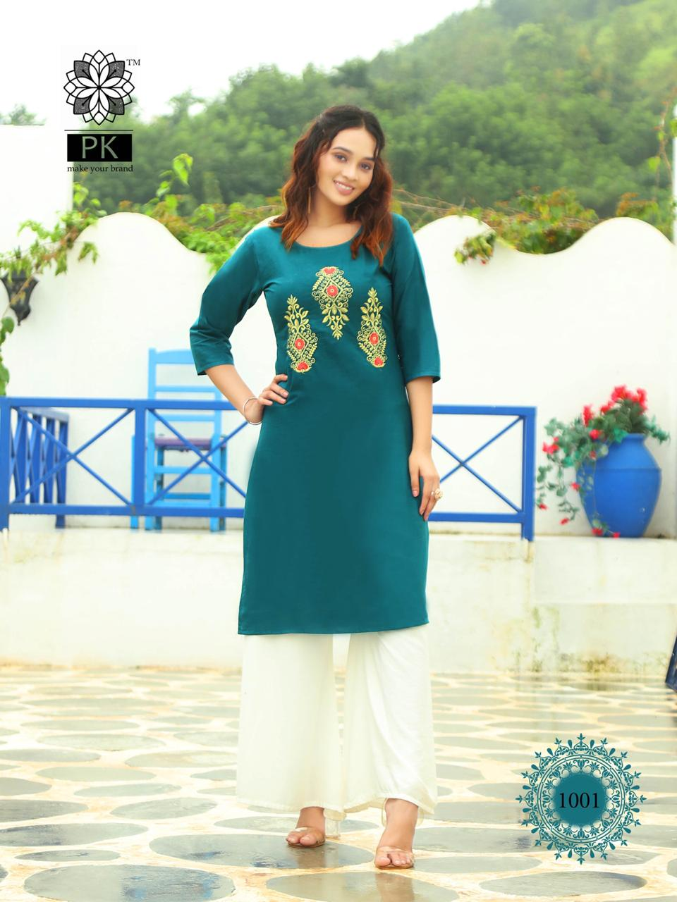 Pk Fashion Rainbow Vol 2 Kurti Wholesale Catalog 20 Pcs 6 - Pk Fashion Rainbow Vol 2 Kurti Wholesale Catalog 20 Pcs