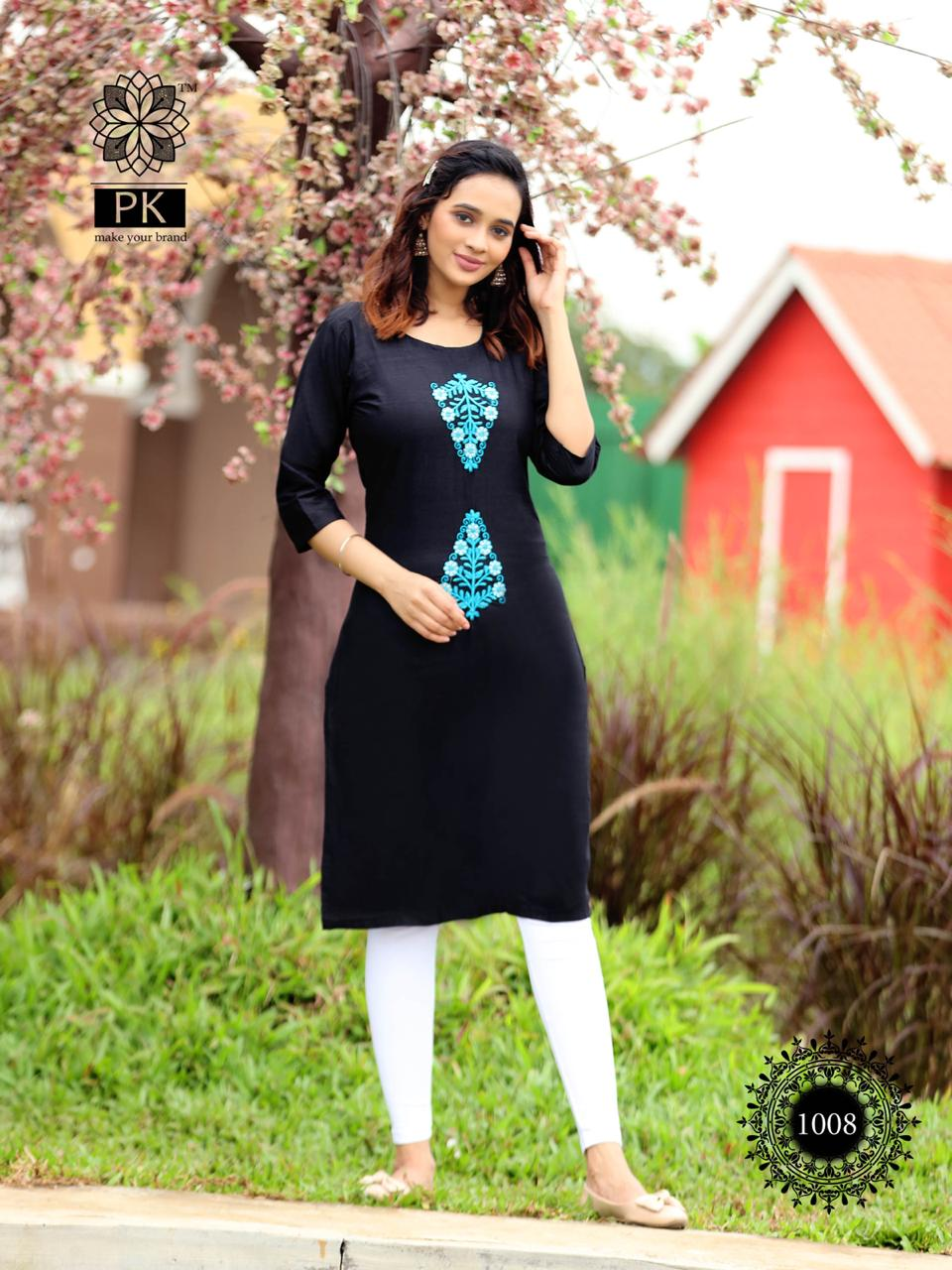 Pk Fashion Rainbow Vol 2 Kurti Wholesale Catalog 20 Pcs 9 - Pk Fashion Rainbow Vol 2 Kurti Wholesale Catalog 20 Pcs