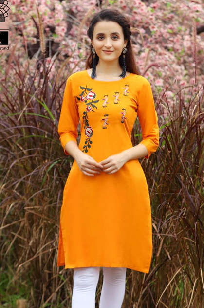 Pk Fashion Rainbow Vol 2 Kurti Wholesale Catalog 20 Pcs - Pk Fashion Rainbow Vol 2 Kurti Wholesale Catalog 20 Pcs