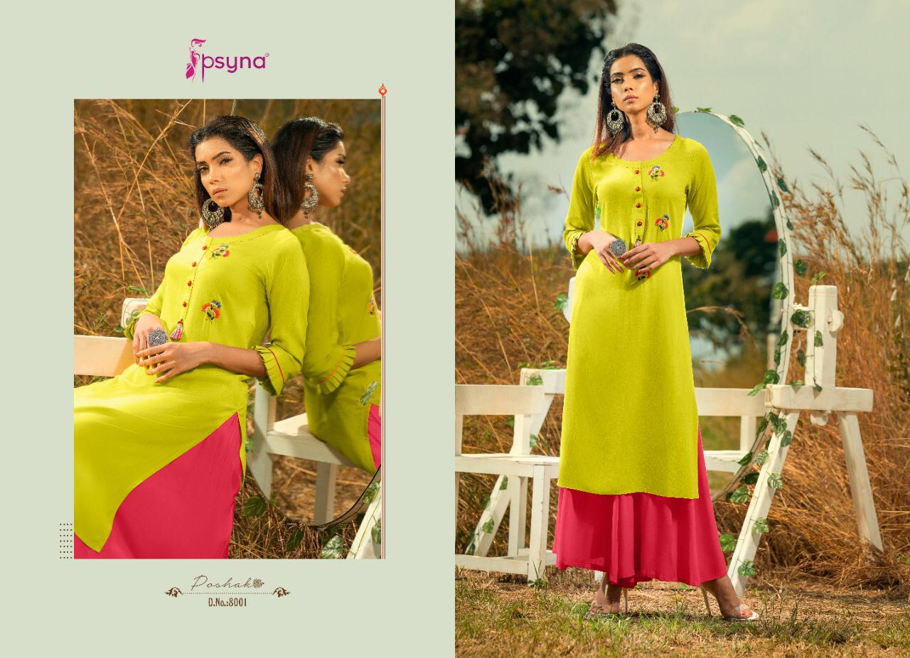 Psyna Poshak Vol 8 Kurti Wholesale Catalog 10 Pcs 1 - Psyna Poshak Vol 8 Kurti Wholesale Catalog 10 Pcs