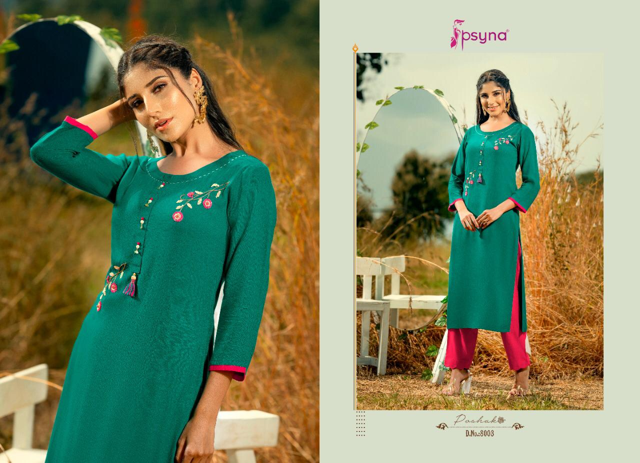 Psyna Poshak Vol 8 Kurti Wholesale Catalog 10 Pcs 3 - Psyna Poshak Vol 8 Kurti Wholesale Catalog 10 Pcs