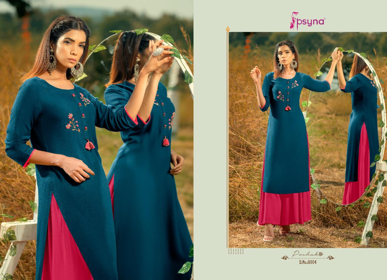 Psyna Poshak Vol 8 Kurti Wholesale Catalog 10 Pcs 4 - Psyna Poshak Vol 8 Kurti Wholesale Catalog 10 Pcs