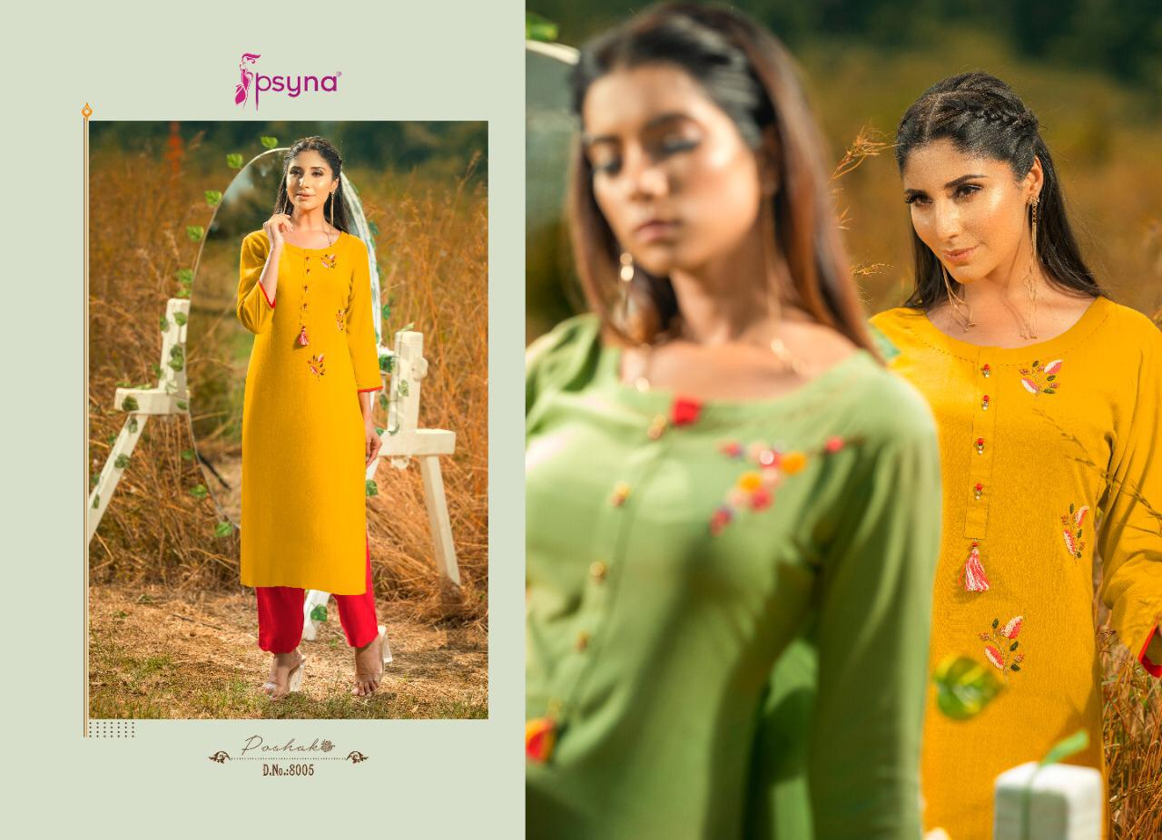 Psyna Poshak Vol 8 Kurti Wholesale Catalog 10 Pcs 5 - Psyna Poshak Vol 8 Kurti Wholesale Catalog 10 Pcs