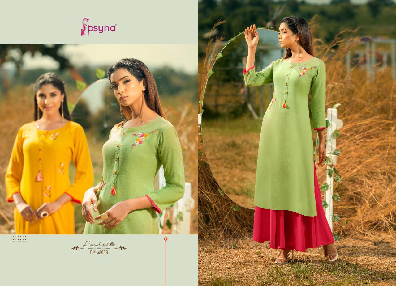 Psyna Poshak Vol 8 Kurti Wholesale Catalog 10 Pcs 7 - Psyna Poshak Vol 8 Kurti Wholesale Catalog 10 Pcs