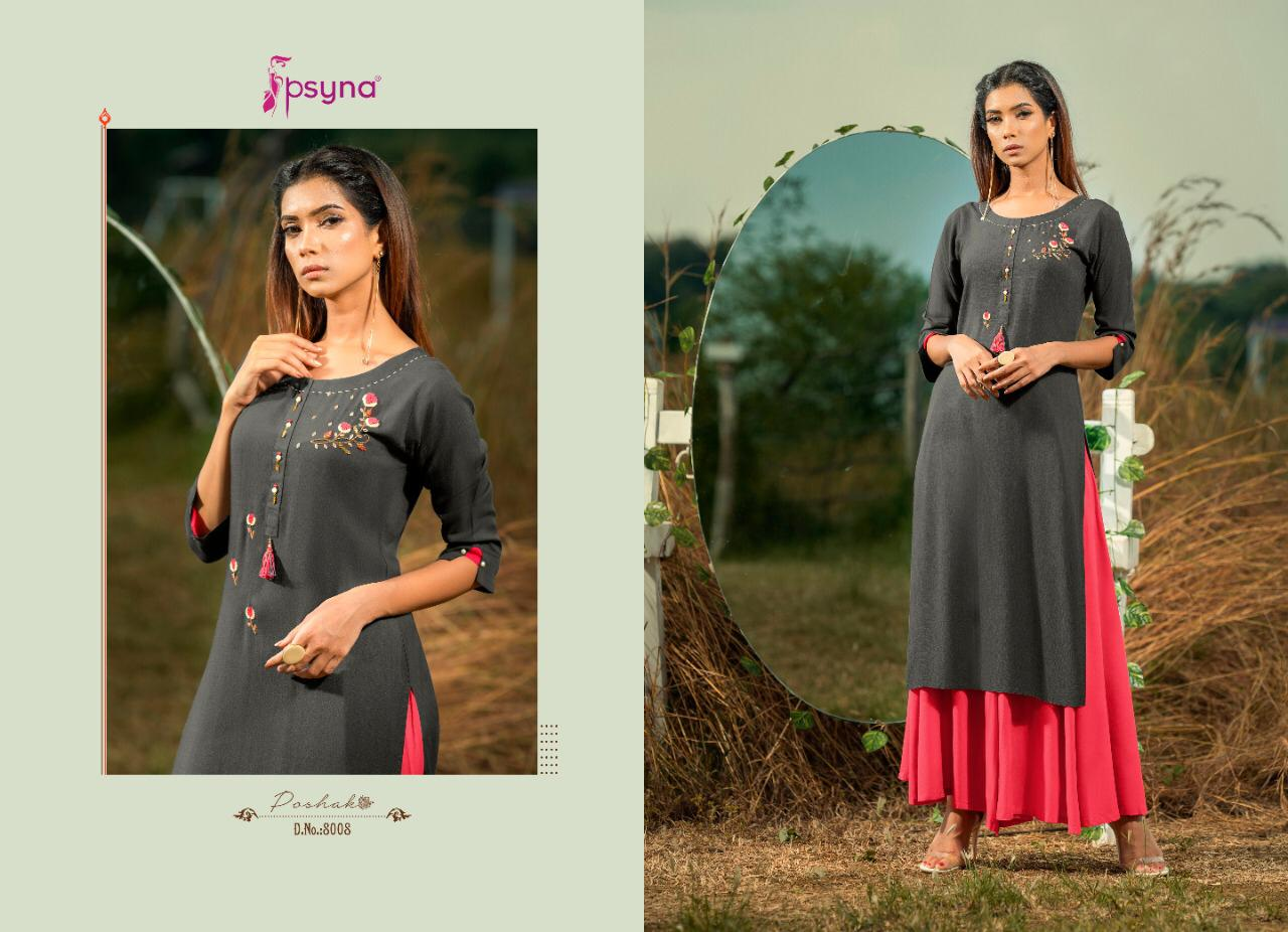 Psyna Poshak Vol 8 Kurti Wholesale Catalog 10 Pcs 9 - Psyna Poshak Vol 8 Kurti Wholesale Catalog 10 Pcs