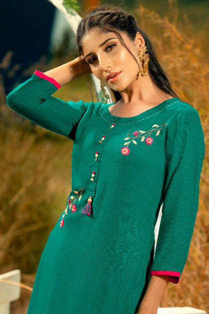Psyna Poshak Vol 8 Kurti Wholesale Catalog 10 Pcs