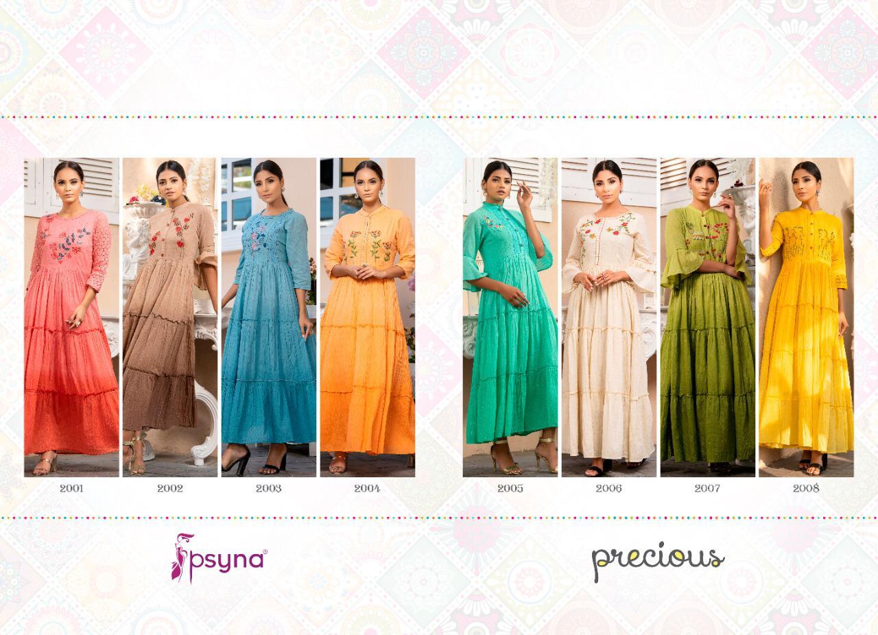 Psyna Precious Vol 2 Kurti Wholesale Catalog 8 Pcs 11 - Psyna Precious Vol 2 Kurti Wholesale Catalog 8 Pcs