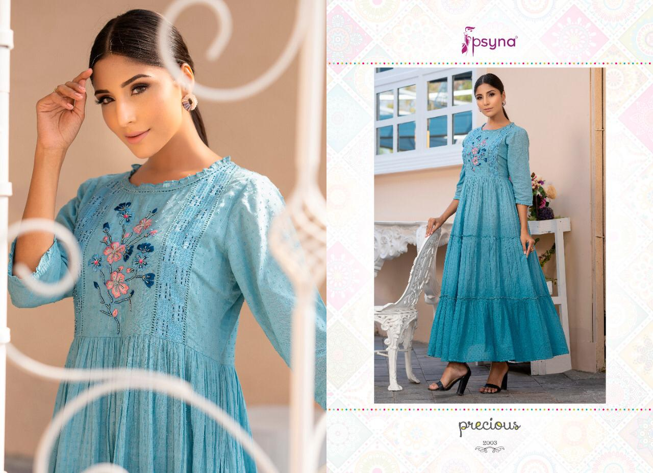 Psyna Precious Vol 2 Kurti Wholesale Catalog 8 Pcs 3 - Psyna Precious Vol 2 Kurti Wholesale Catalog 8 Pcs