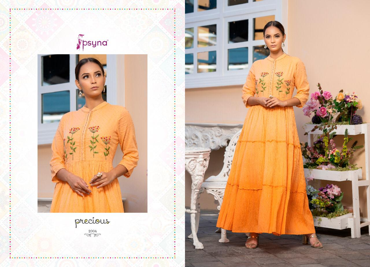 Psyna Precious Vol 2 Kurti Wholesale Catalog 8 Pcs 4 - Psyna Precious Vol 2 Kurti Wholesale Catalog 8 Pcs