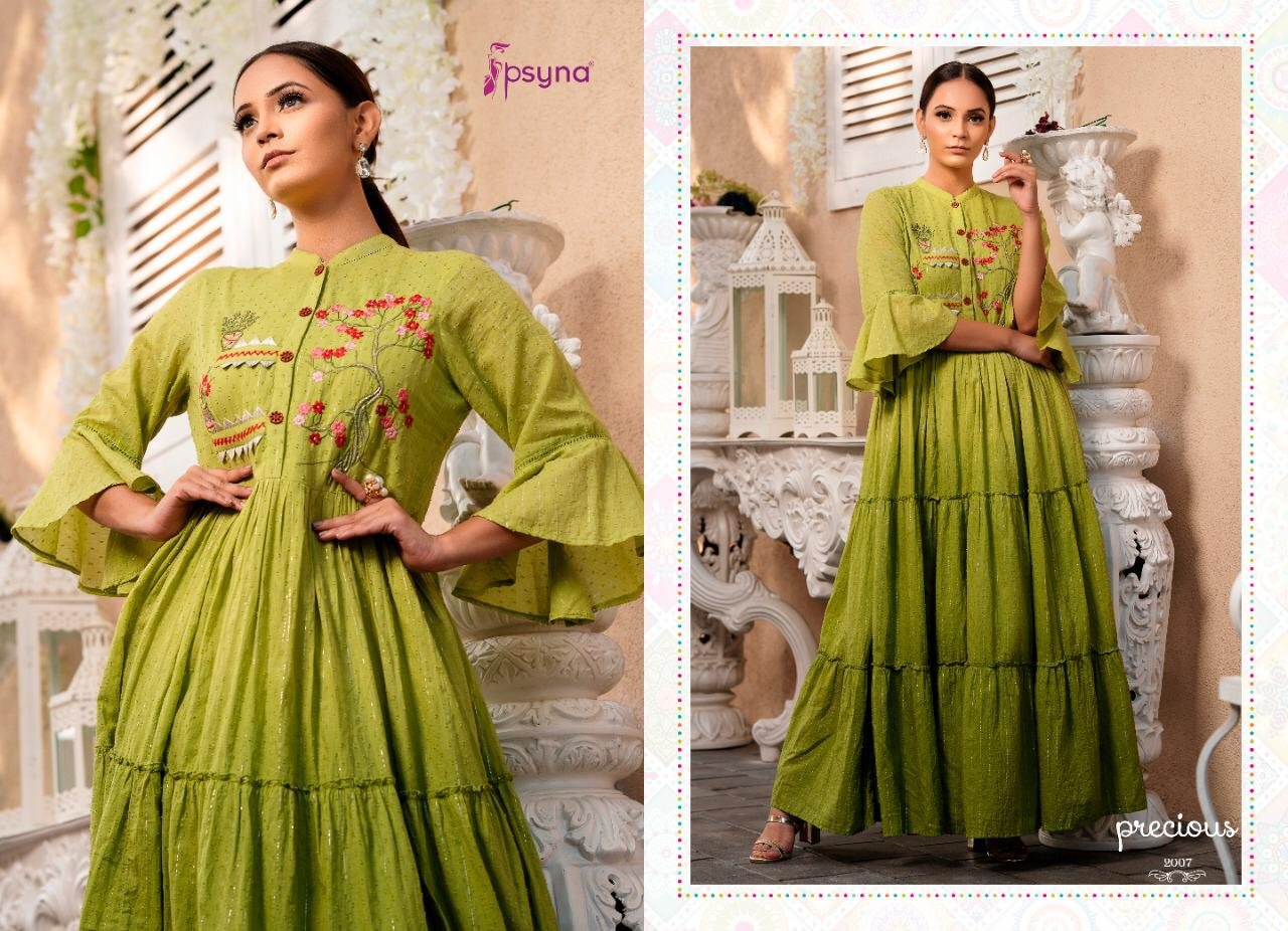 Psyna Precious Vol 2 Kurti Wholesale Catalog 8 Pcs 9 - Psyna Precious Vol 2 Kurti Wholesale Catalog 8 Pcs