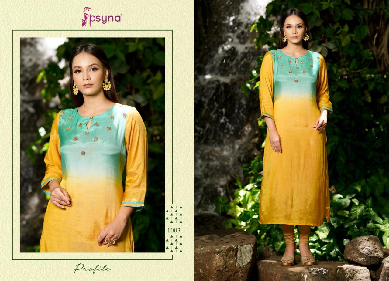Psyna Profile Kurti Wholesale Catalog 7 Pcs 4 - Psyna Profile Kurti Wholesale Catalog 7 Pcs