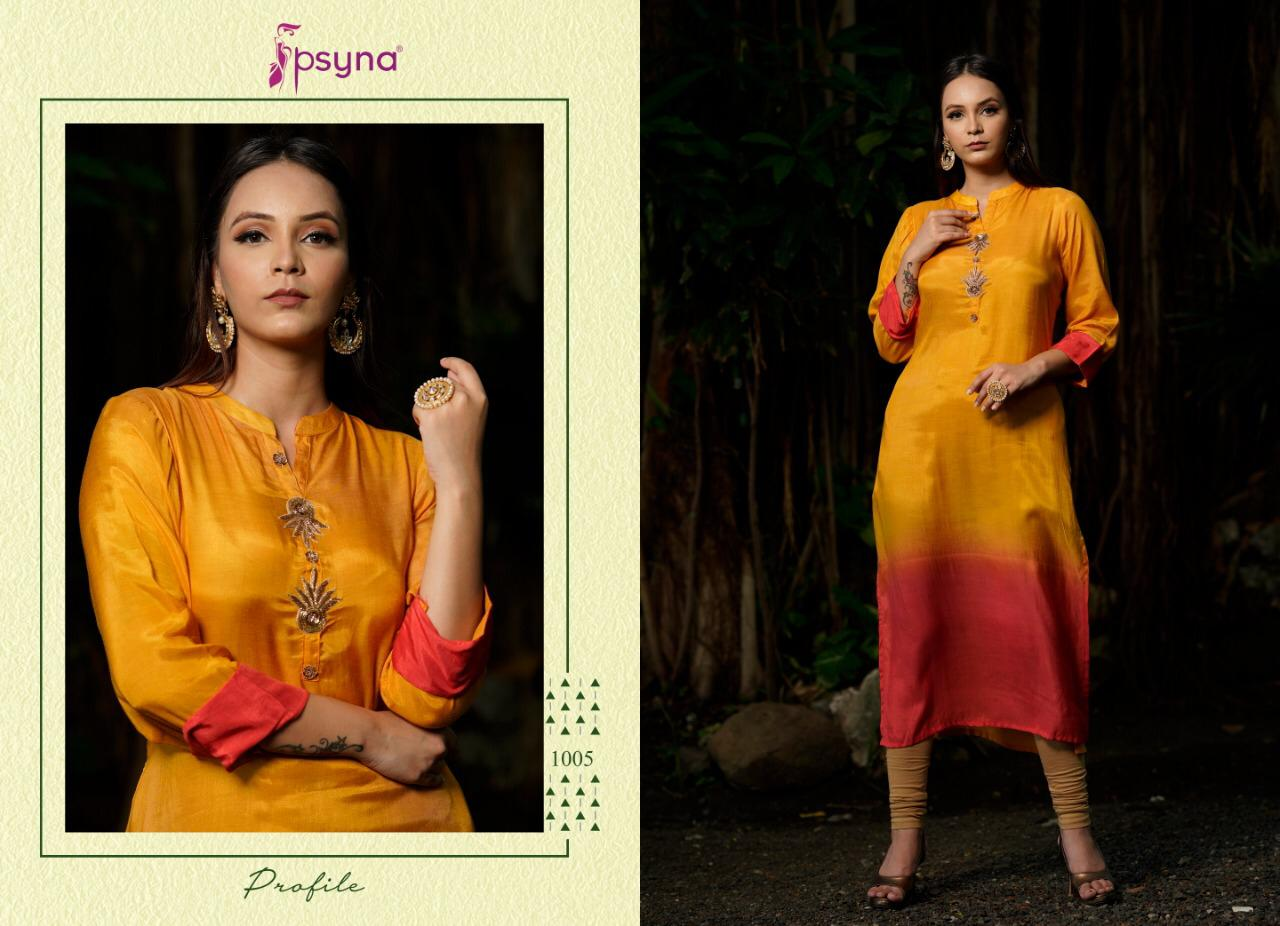 Psyna Profile Kurti Wholesale Catalog 7 Pcs 6 - Psyna Profile Kurti Wholesale Catalog 7 Pcs