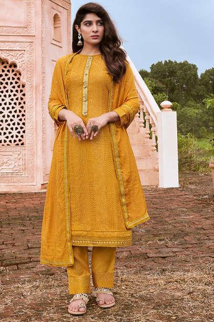 Rangoon Royal Touch Vol 2 by Kessi Readymade Salwar Suit Wholesale Catalog 5 Pcs