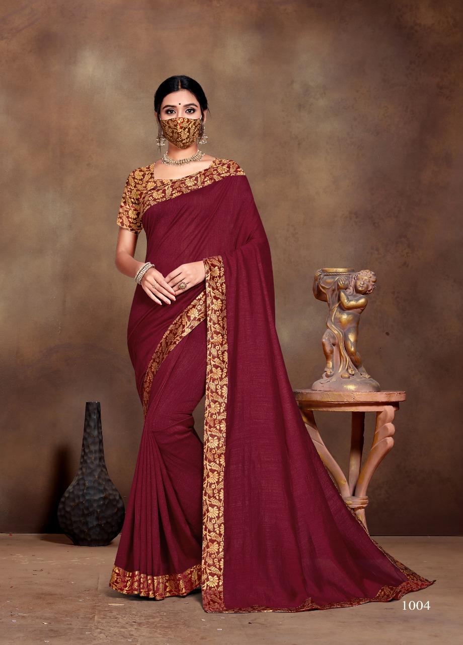 Ranjna Vivana Saree Sari Wholesale Catalog 6 Pcs 2 - Ranjna Vivana Saree Sari Wholesale Catalog 6 Pcs