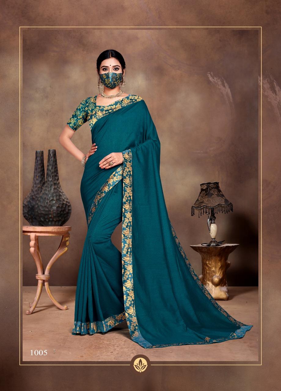 Ranjna Vivana Saree Sari Wholesale Catalog 6 Pcs 3 - Ranjna Vivana Saree Sari Wholesale Catalog 6 Pcs