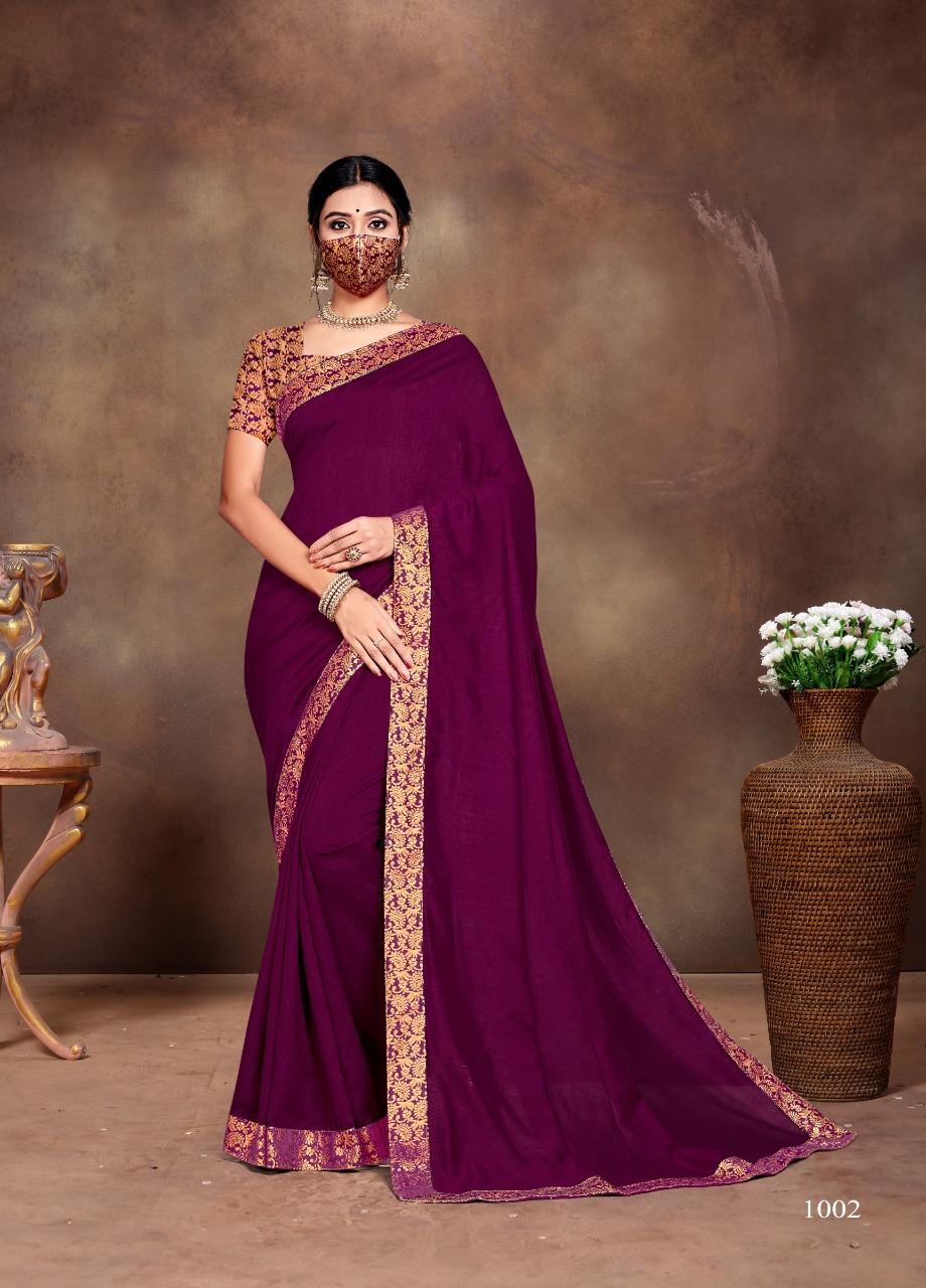 Ranjna Vivana Saree Sari Wholesale Catalog 6 Pcs 4 - Ranjna Vivana Saree Sari Wholesale Catalog 6 Pcs