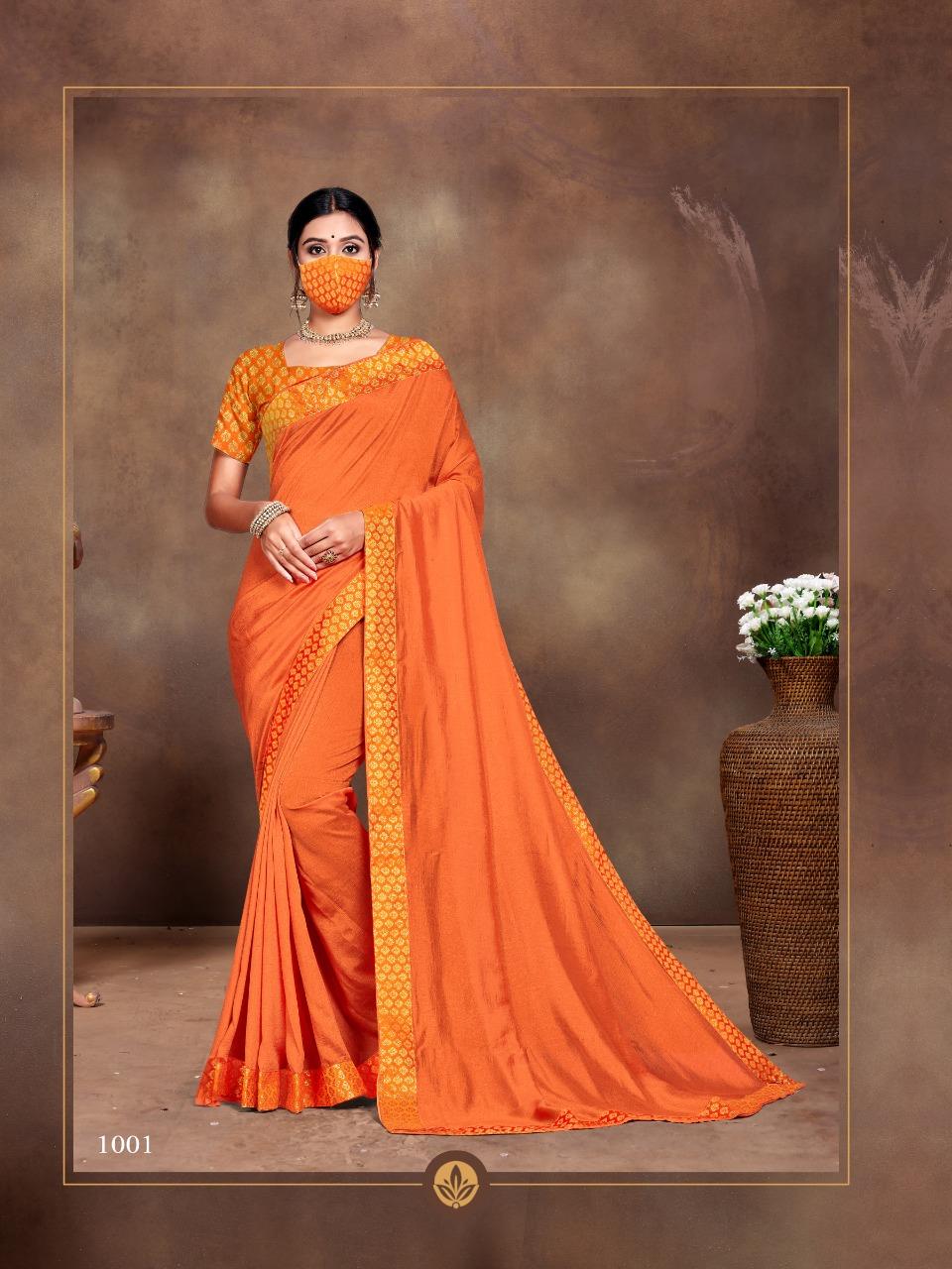 Ranjna Vivana Saree Sari Wholesale Catalog 6 Pcs 5 - Ranjna Vivana Saree Sari Wholesale Catalog 6 Pcs