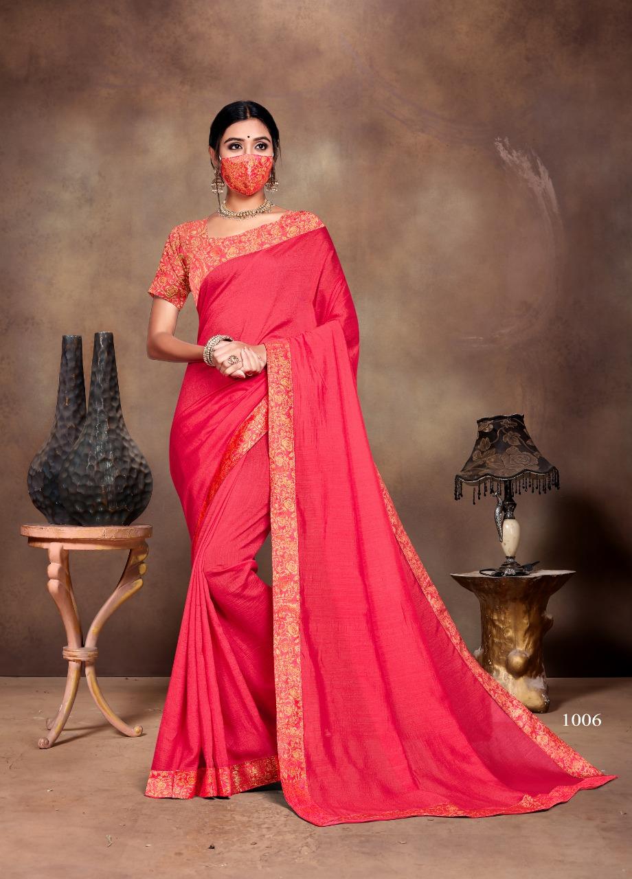 Ranjna Vivana Saree Sari Wholesale Catalog 6 Pcs 6 - Ranjna Vivana Saree Sari Wholesale Catalog 6 Pcs