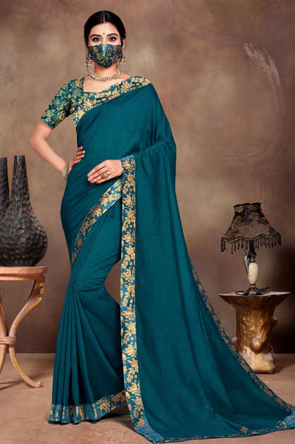 Ranjna Vivana Saree Sari Wholesale Catalog 6 Pcs