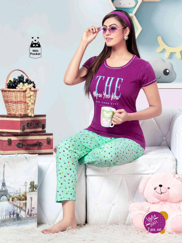 SF Premium Night Wear Vol 59 Wholesale Catalog 6 Pcs 6 - SF Premium Night Wear Vol 59 Wholesale Catalog 6 Pcs