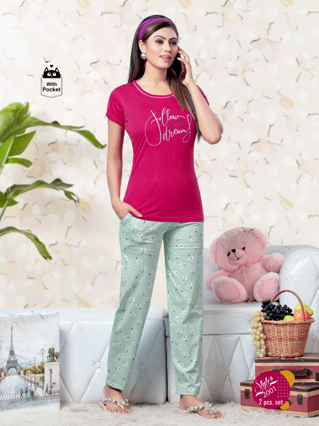 SF Premium Night Wear Vol 60 Wholesale Catalog 6 Pcs 2 - SF Premium Night Wear Vol 60 Wholesale Catalog 6 Pcs